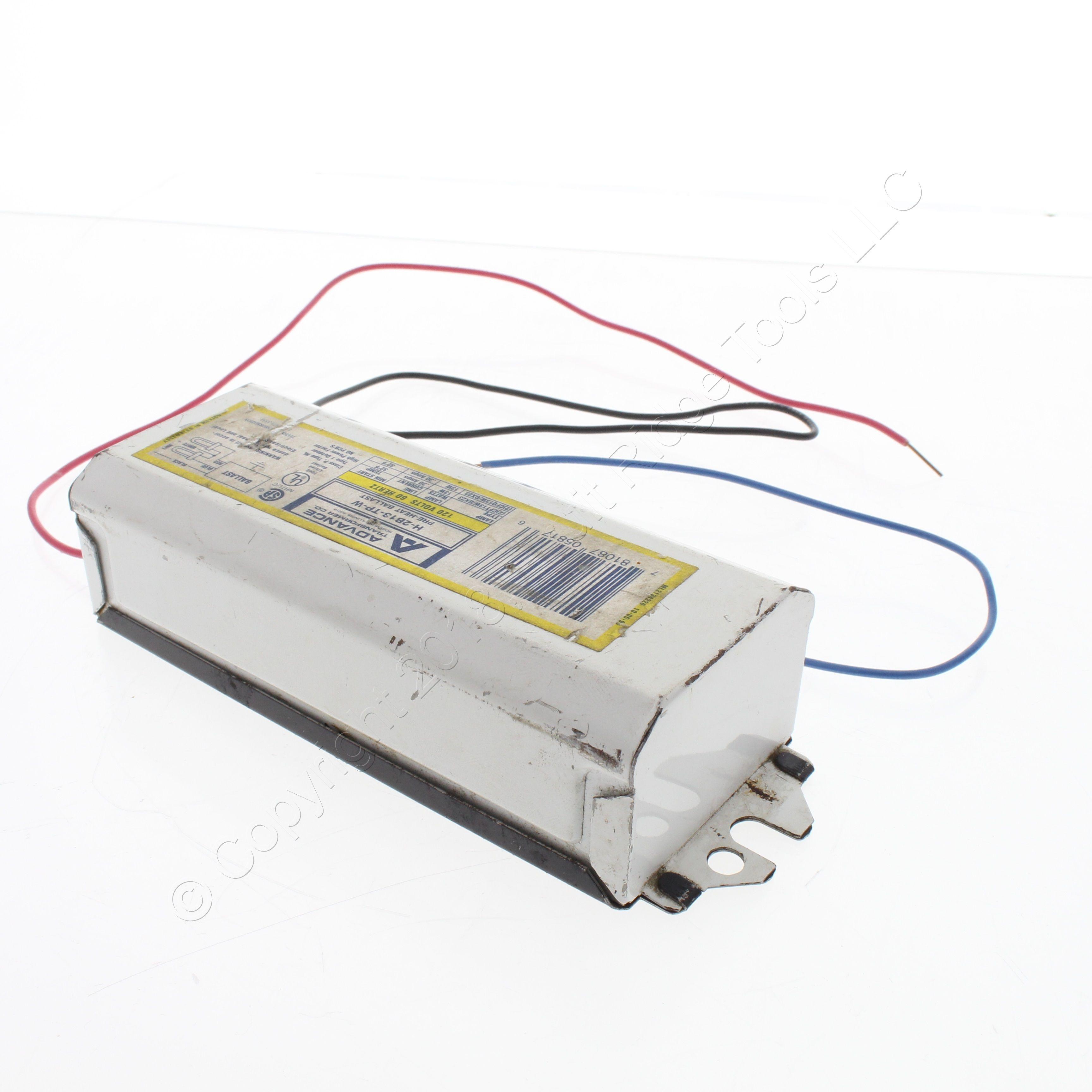Advance Magnetic 120V 13W 2-Pin Pre-Heat Compact Flourescent Ballast LO1322TPM
