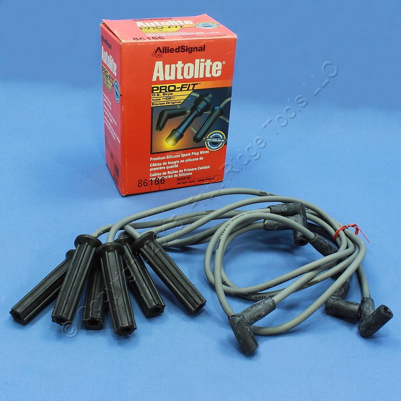 Autolite 86166 Spark Plug Wires for 94 95 Regal Skylark Achieva ...