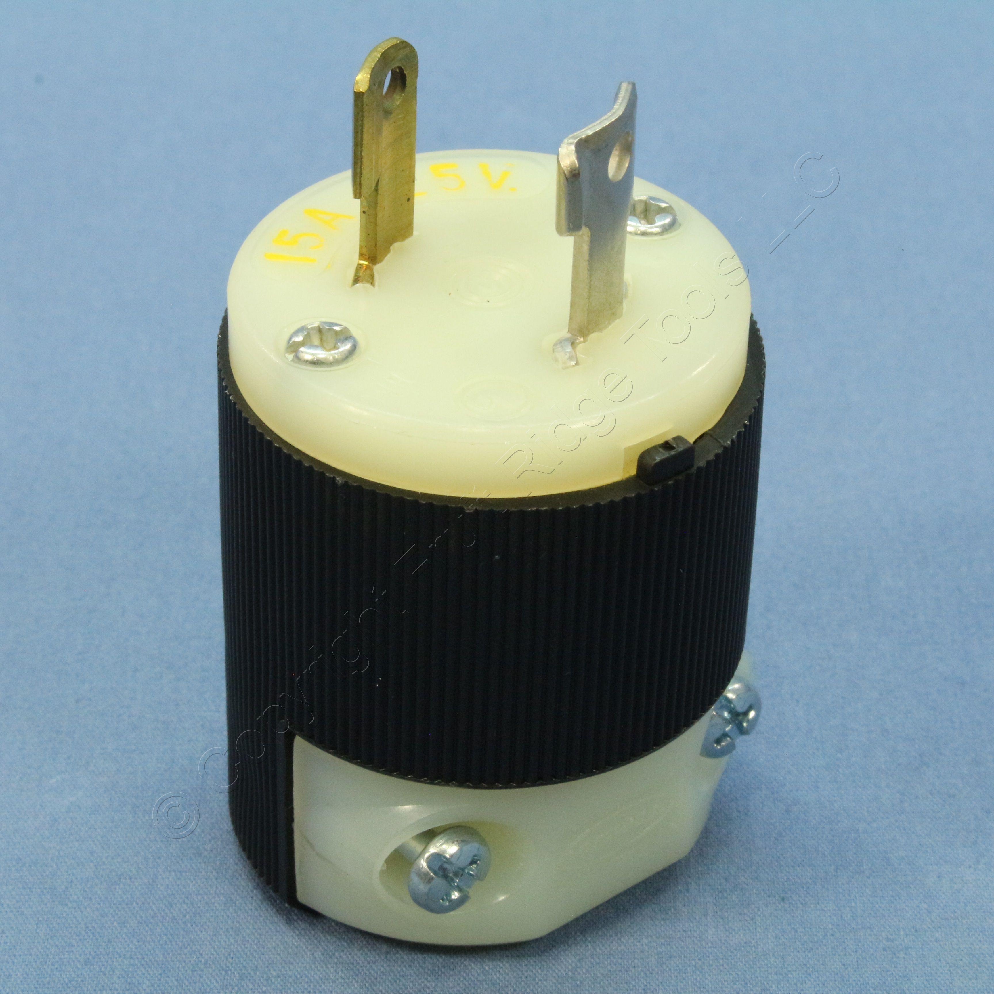 Buy New Bryant Twist Turn Locking Connector Plug NEMA 1-15P 15A 125V ...