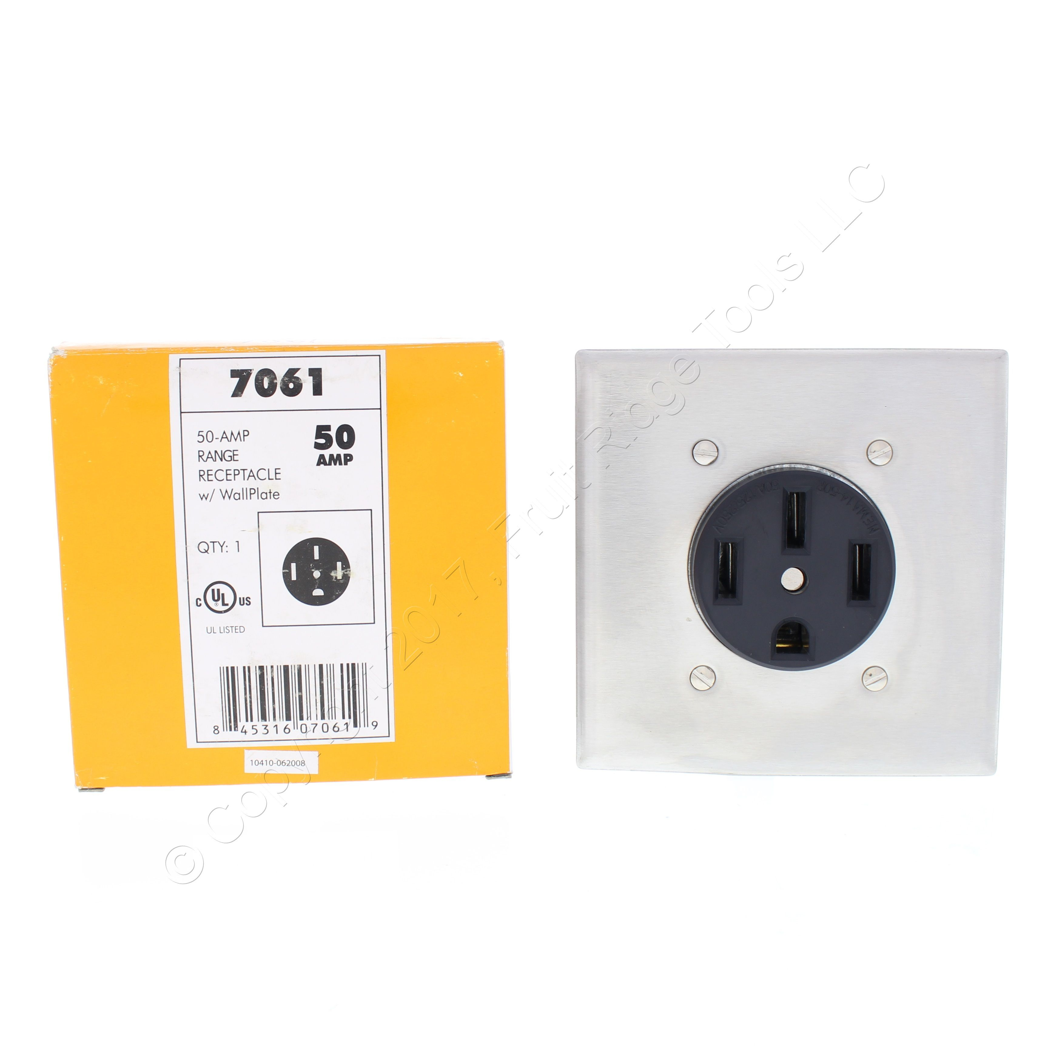 Shop New Cheetah Speed Black 50a Range Receptacle Outlets With