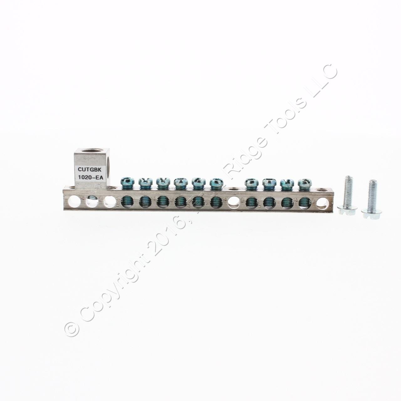 12 Cutler Hammer GBK21 21 Circuit Series A Ground Bar Kits FREE S/&H
