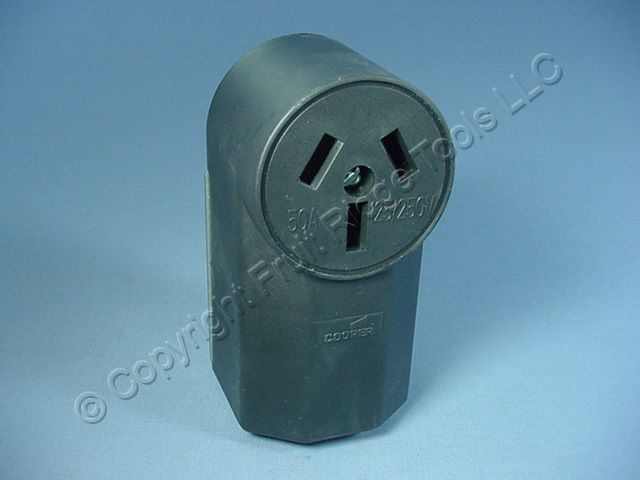 Buy Cooper Electric Range Outlet Receptacle Stove Oven 10-50 50A 125 ...