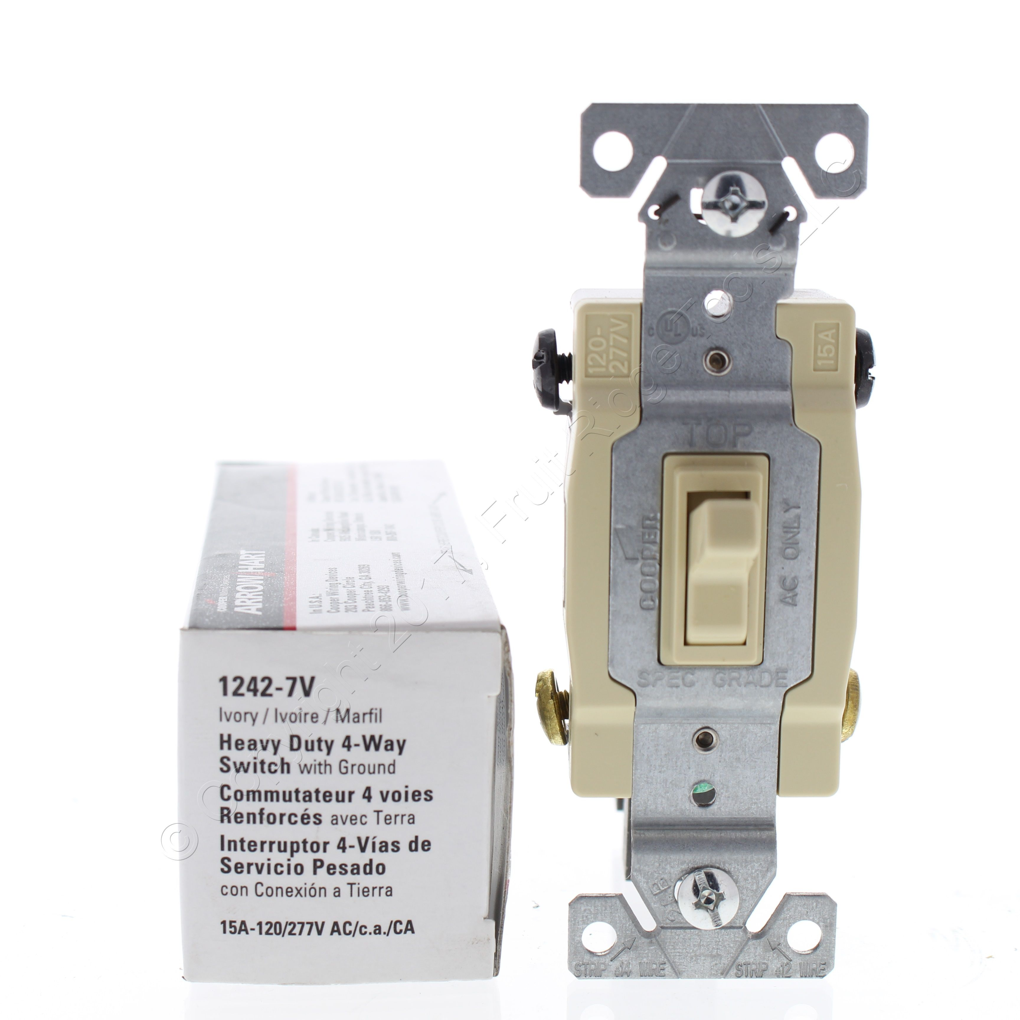 cooper switch wiring diagram           new cooper ivory 4 way toggle wall light switch 15a 120 277v  ivory 4 way toggle wall light switch