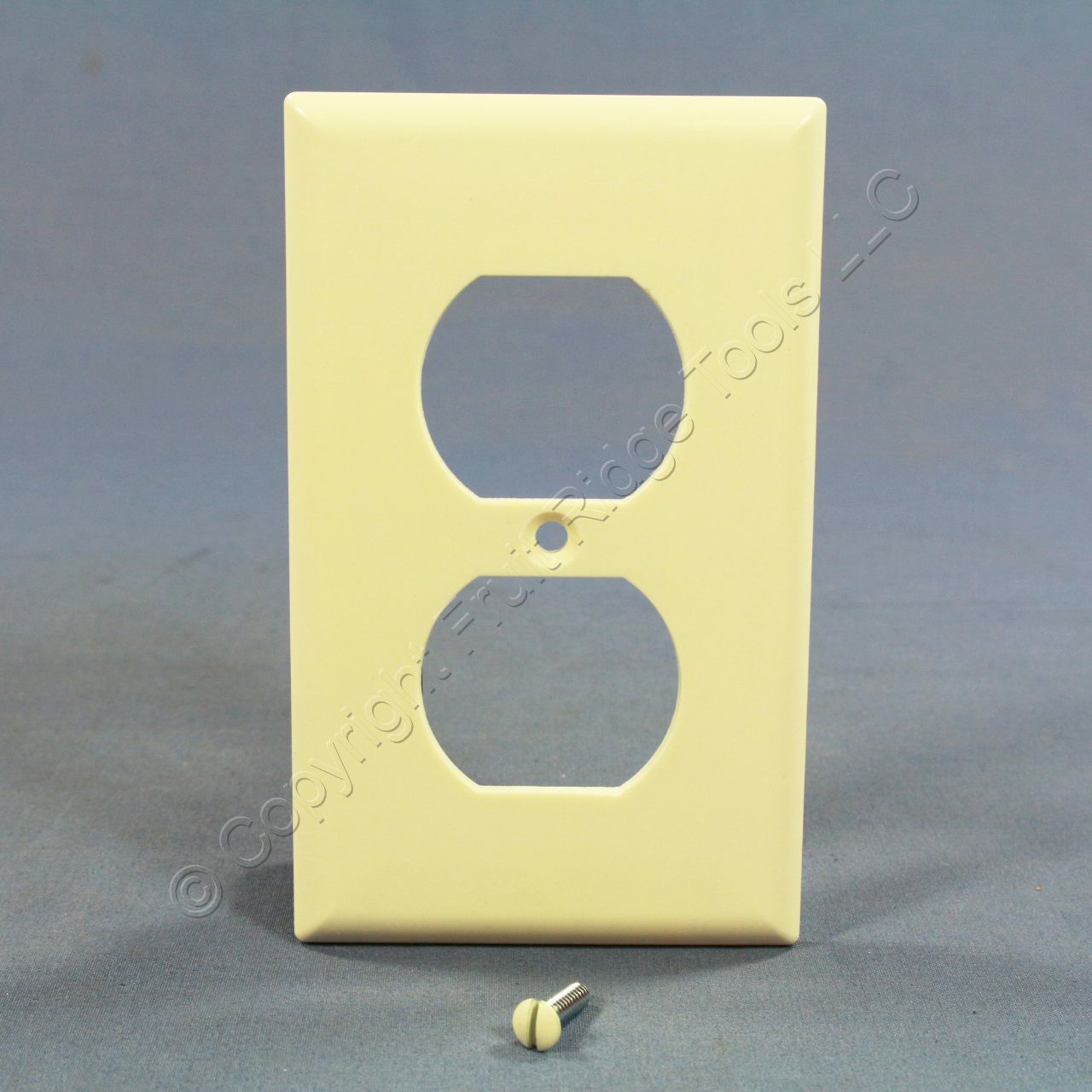 🏠 🔌 Buy Cooper Almond 1-Gang Duplex Outlet Receptacle Cover ...