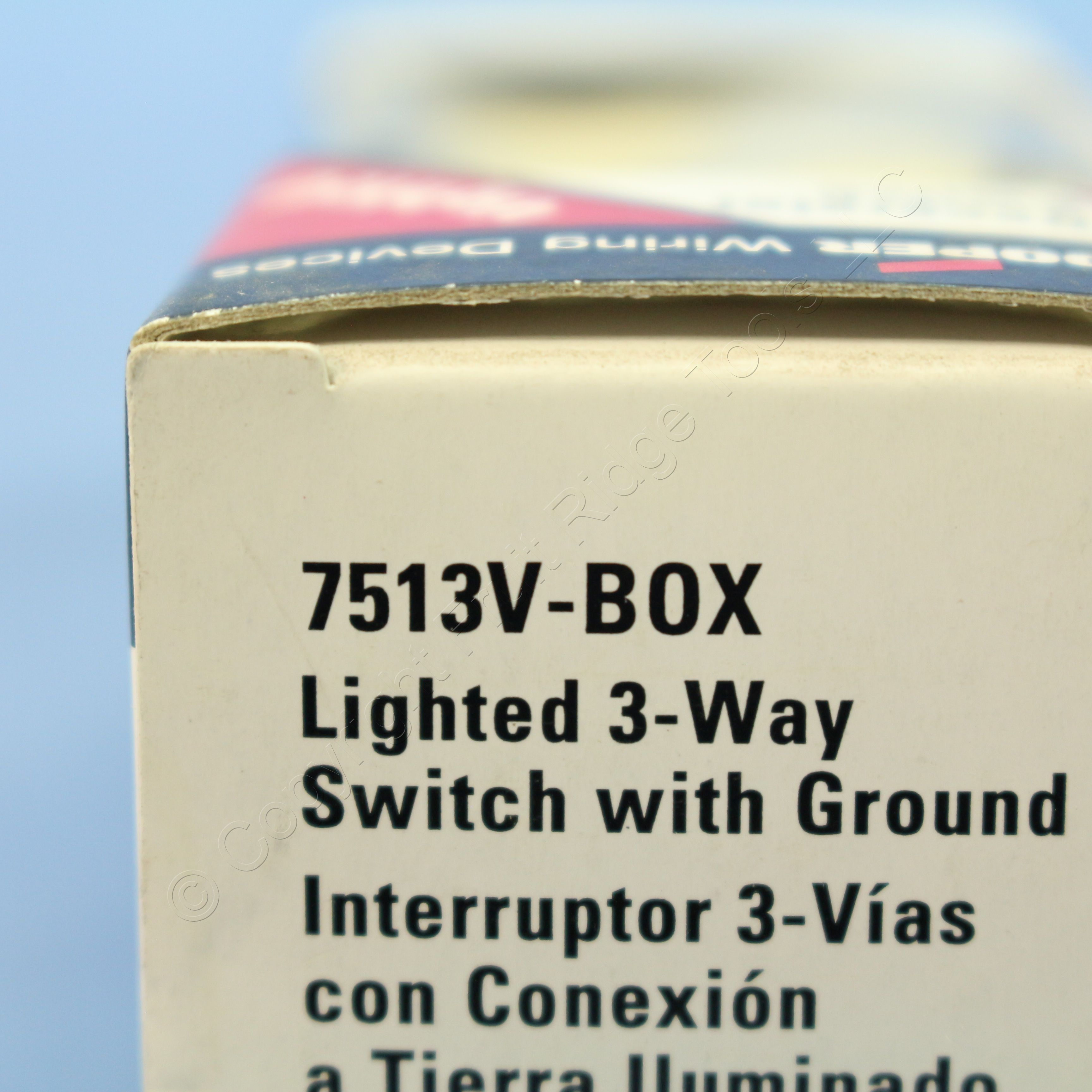 Shop Cooper Ivory Illuminated 3 Way Decorator Rocker Wall Wiring Quiet Toggle Switch Single Pole Lighted 15 A 120 V Light 15a 7513v Fruit Ridge Tools