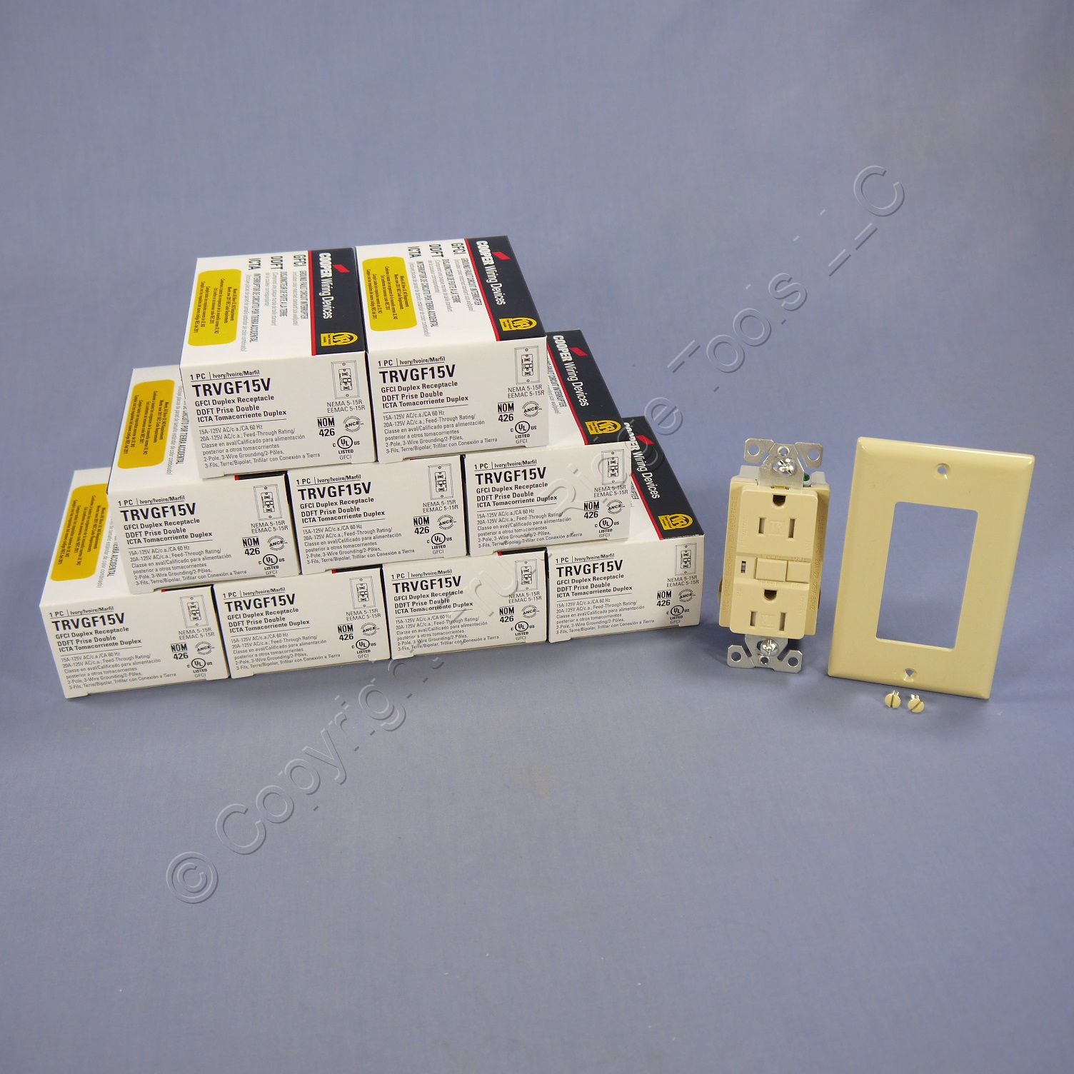 Shop Cooper Wiring Devices 15amp Brown Double Pole Light Switch At
