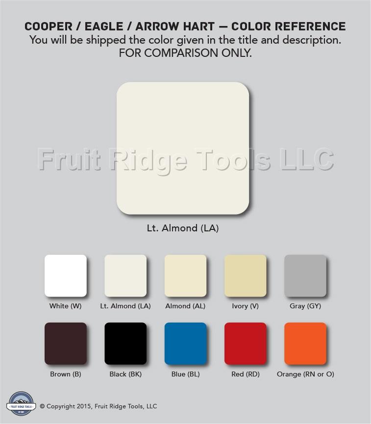 🏠 🔌 Shop Cooper Skye Light Almond LED/CFL 600W Inc/Halogen Slide Halogen V Toggle Switch Wiring Diagram on
