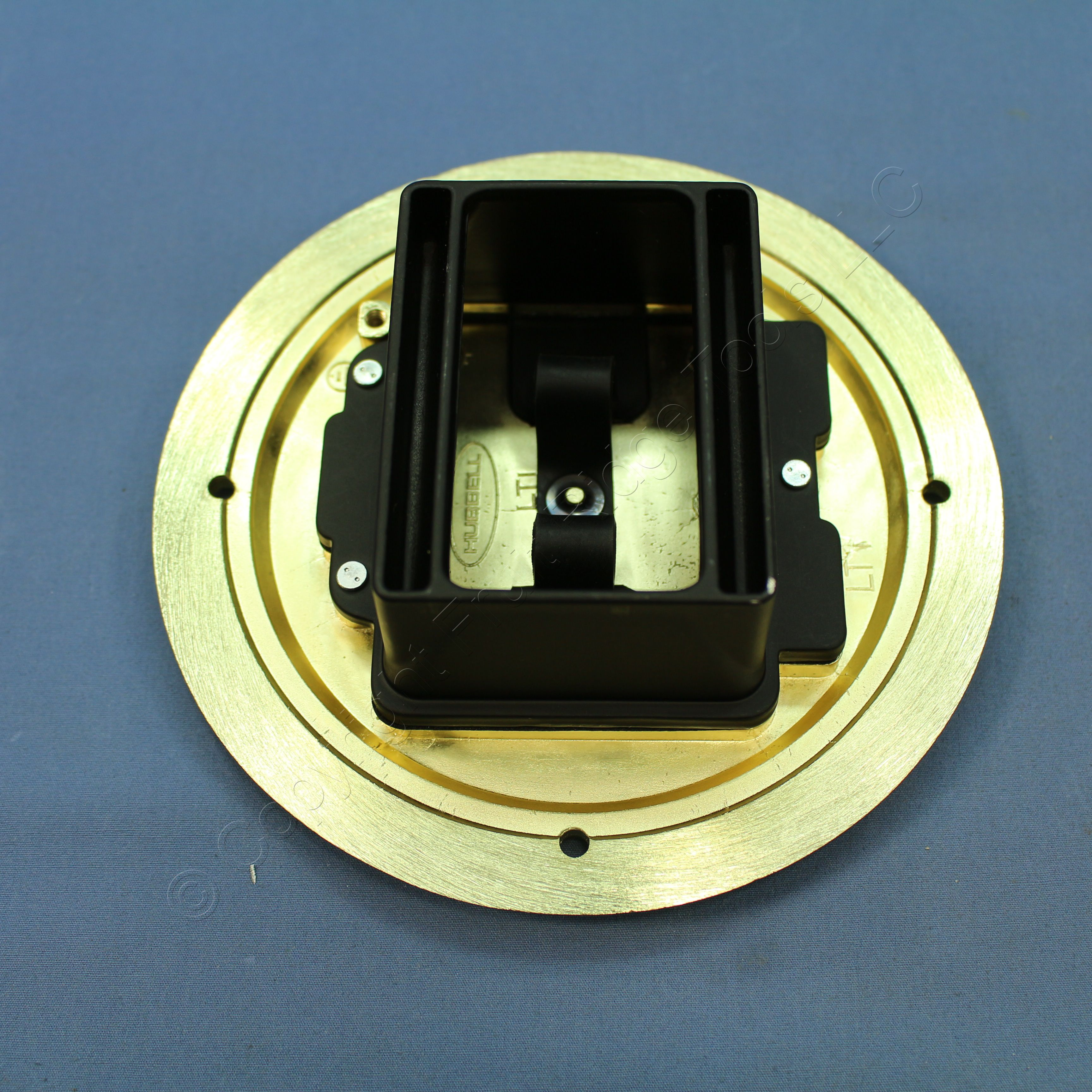 brass outlet access of wiring flange hubbell box dia replace floor c floors round