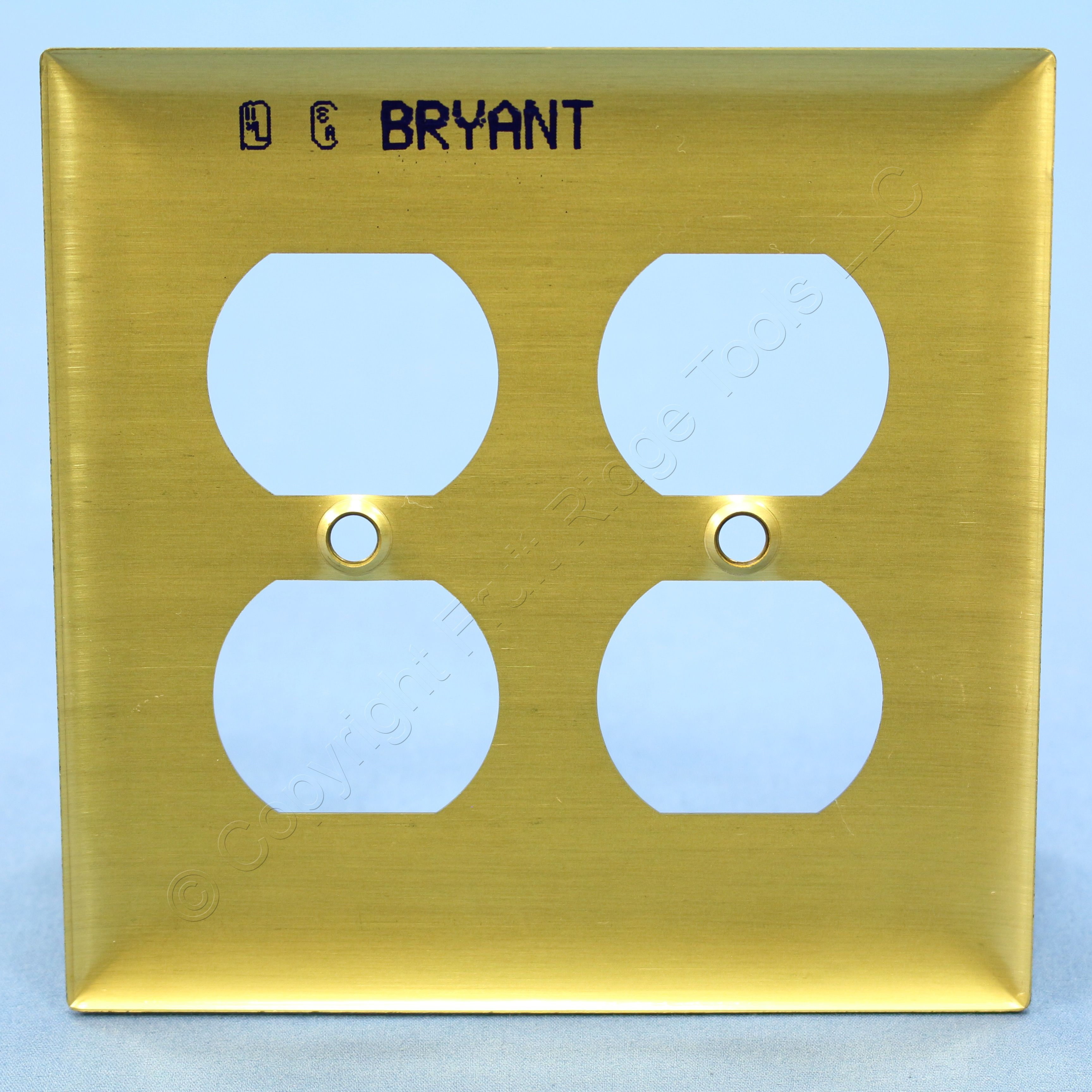 Duplex Receptacle Wall Plate Hubbell Wiring Device-kellems SB82 | eBay