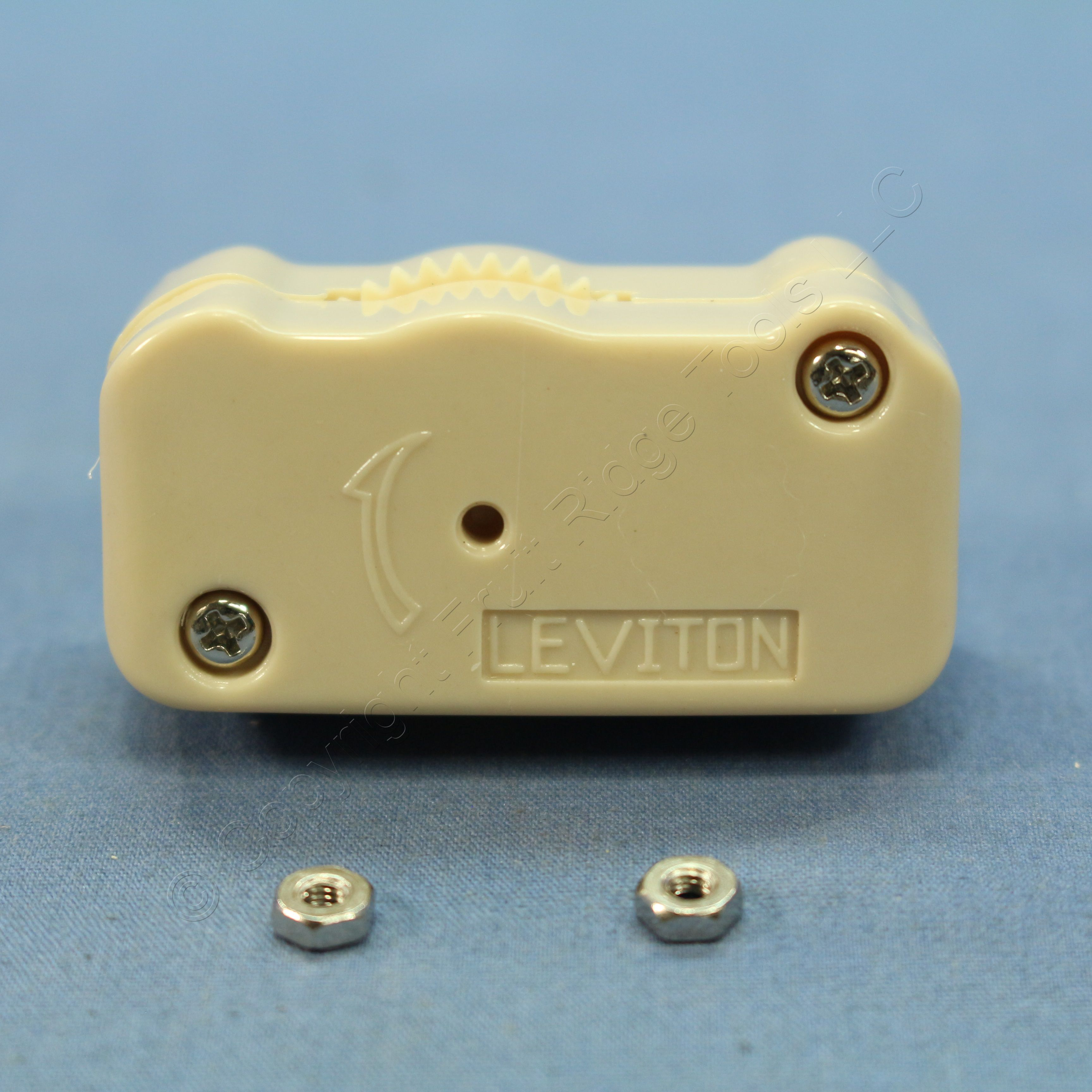 Leviton Ivory 3-Position HI-LO-OFF Lamp Cord Dimmer Switches 200W ...