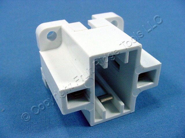 Leviton Compact Fluorescent Lamp Holder Light Socket 2-Pin G23 G23-2 ...