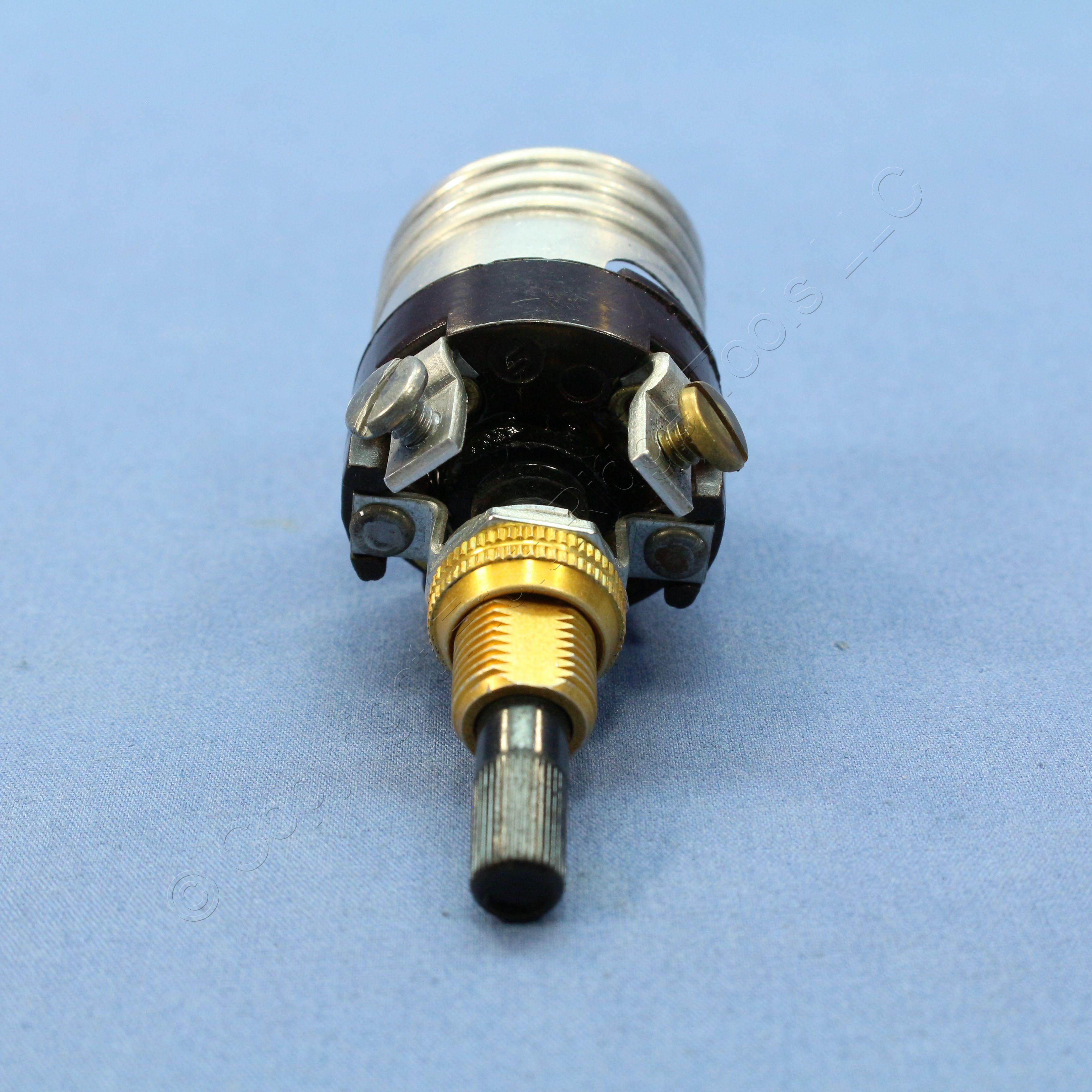 Buy Leviton Bottom Turn Knob Candle Light Socket Lampholder Core ...
