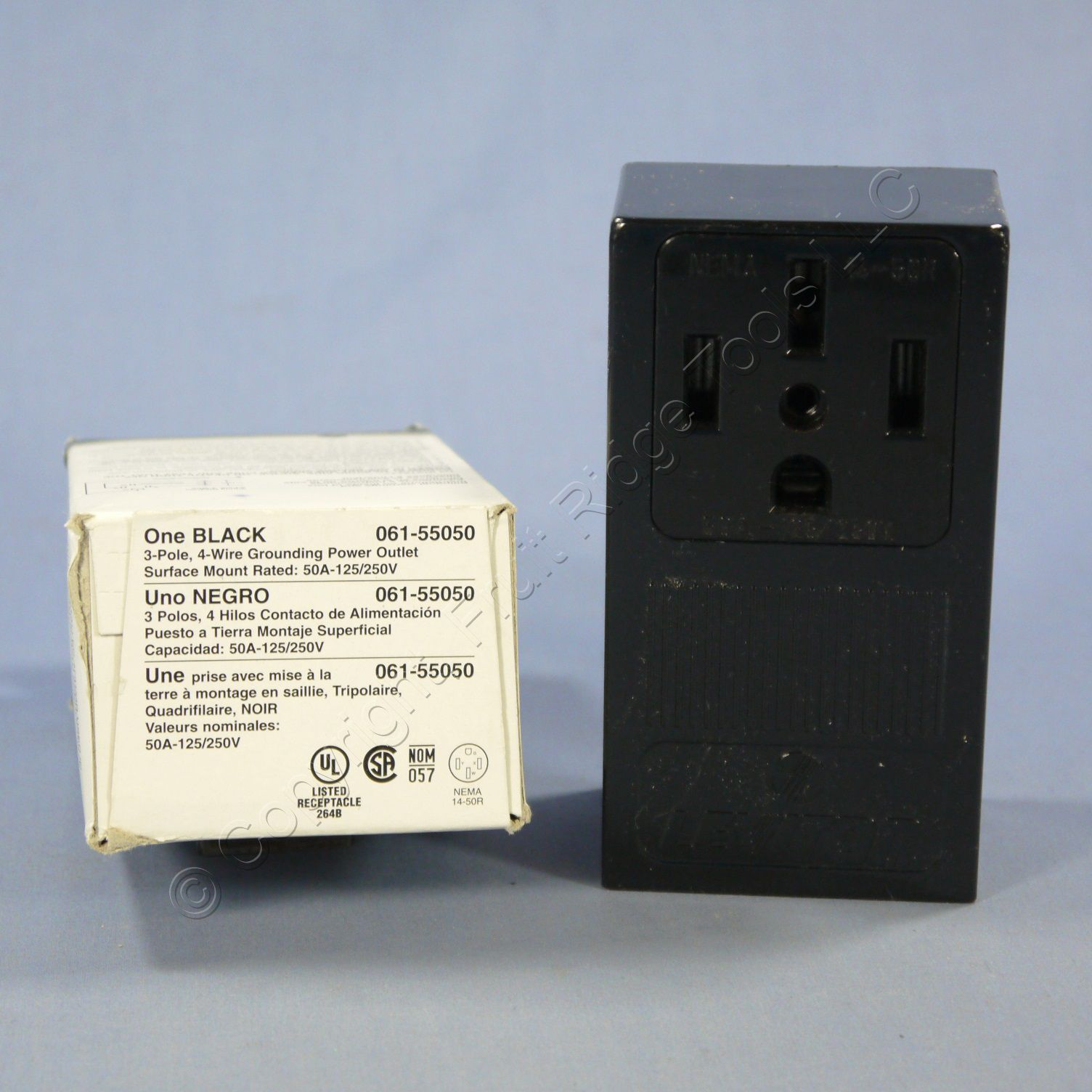 Buy Leviton Surface Mount Receptacle Outlet Oven Range Stove 14-50 ...