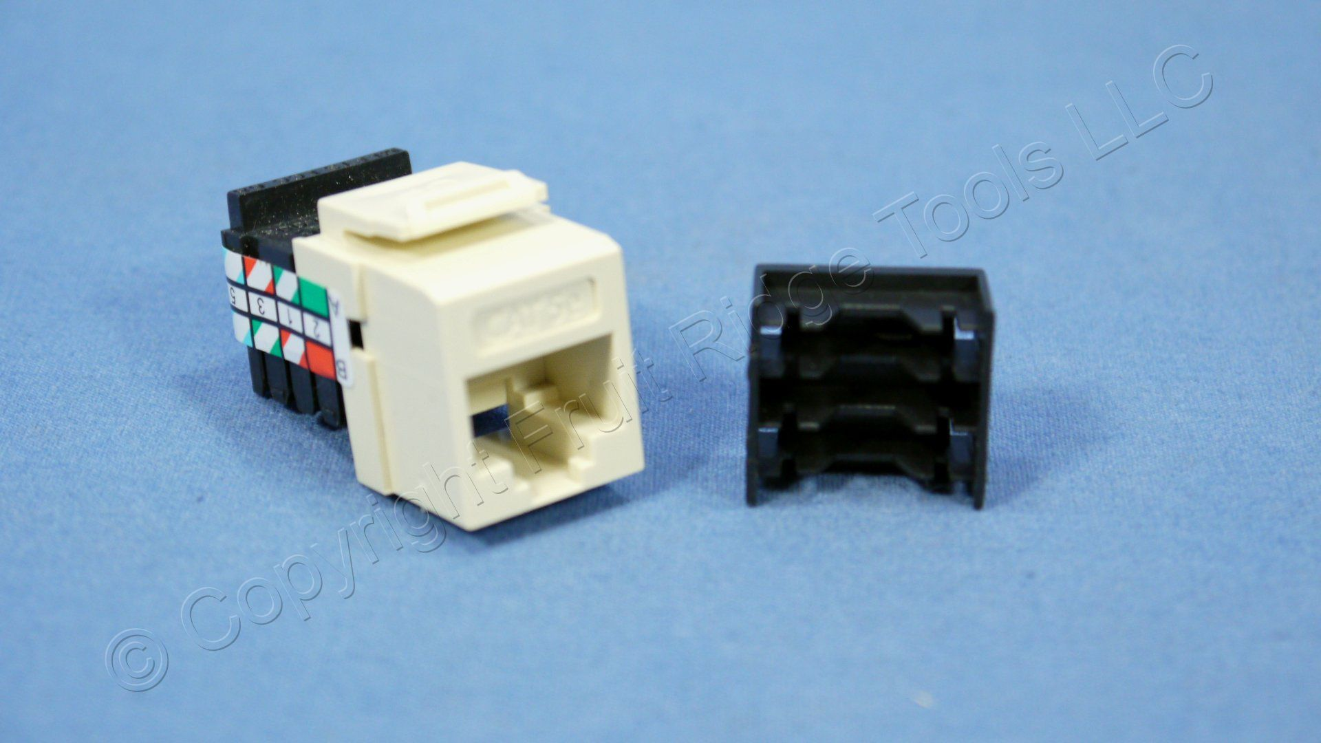 Leviton Almond Gigamax Quickport Cat 5e Jack Cat5e Rj45 8p8c Wiring Category 5g108 A