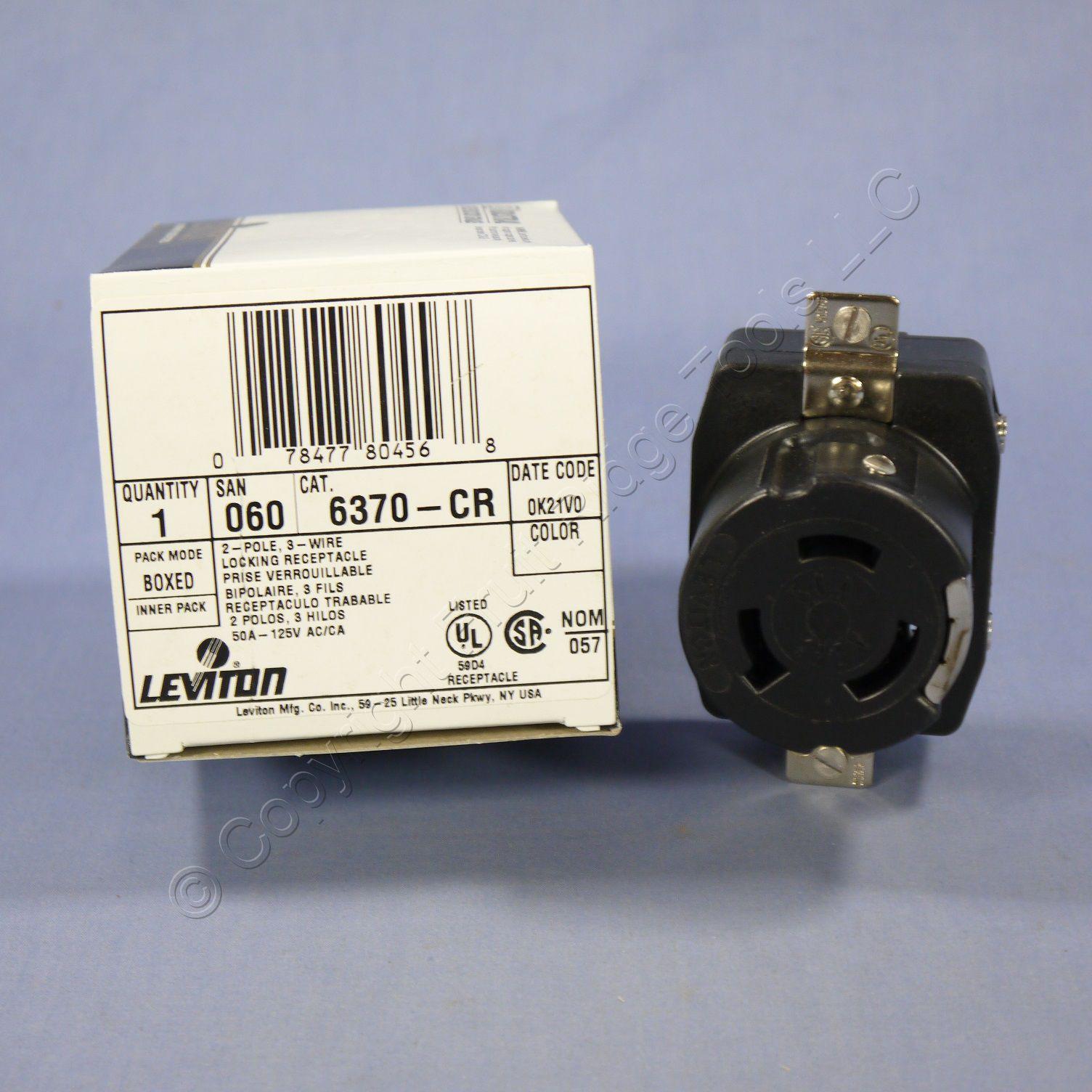 New Leviton Twist Lock Corrosion Resistant Receptacle Non-NEMA 50A ...