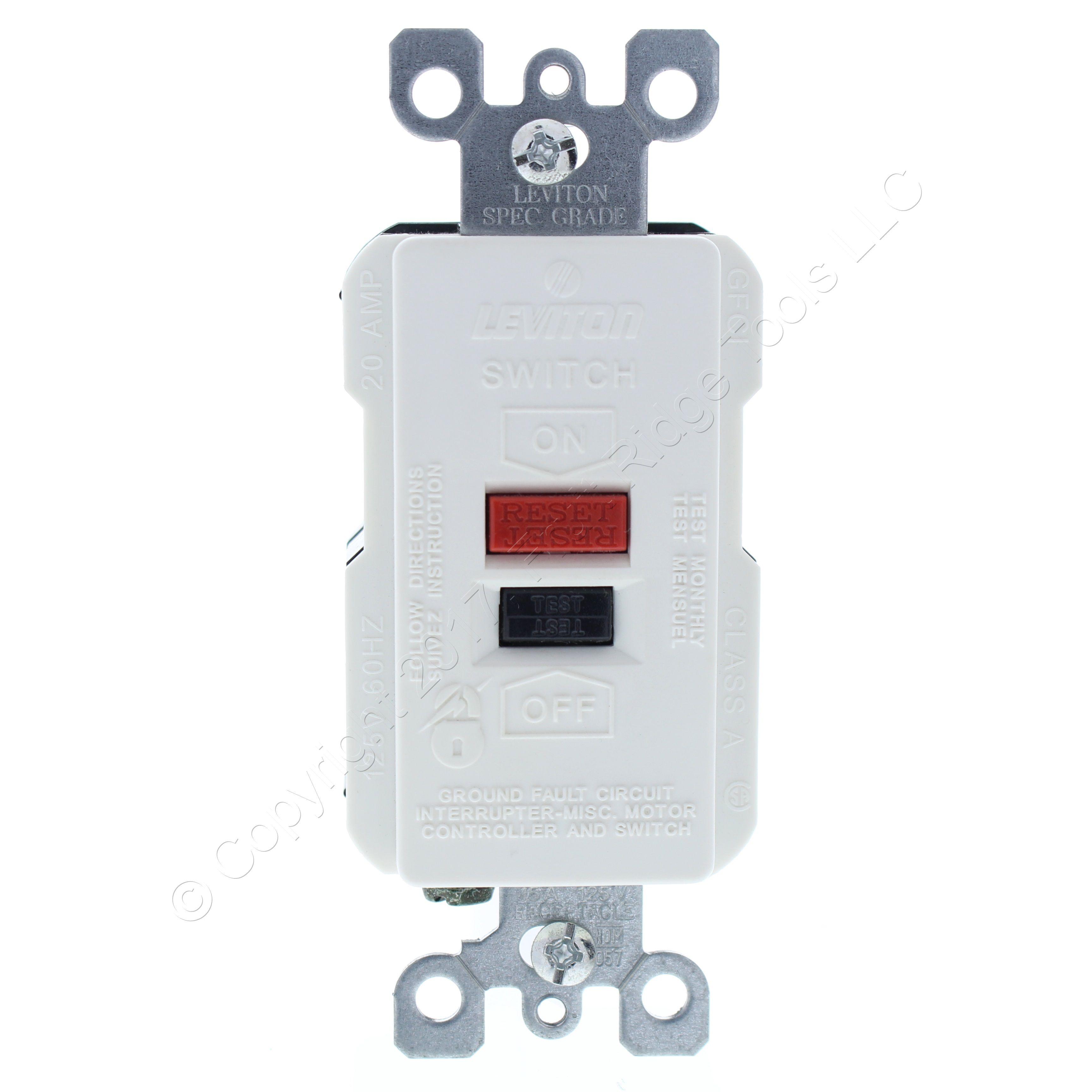 Wiring Ground Fault Circuit Interrupter Switch