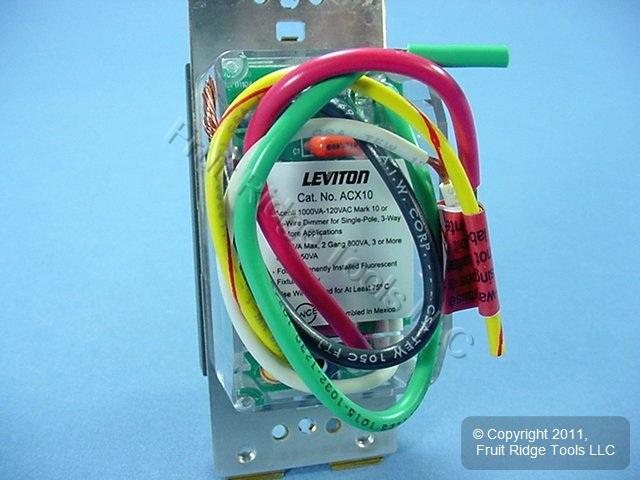 🏠 🔌 Buy Leviton Slate Acenti Light Dimmer Switch FLUORESCENT Online