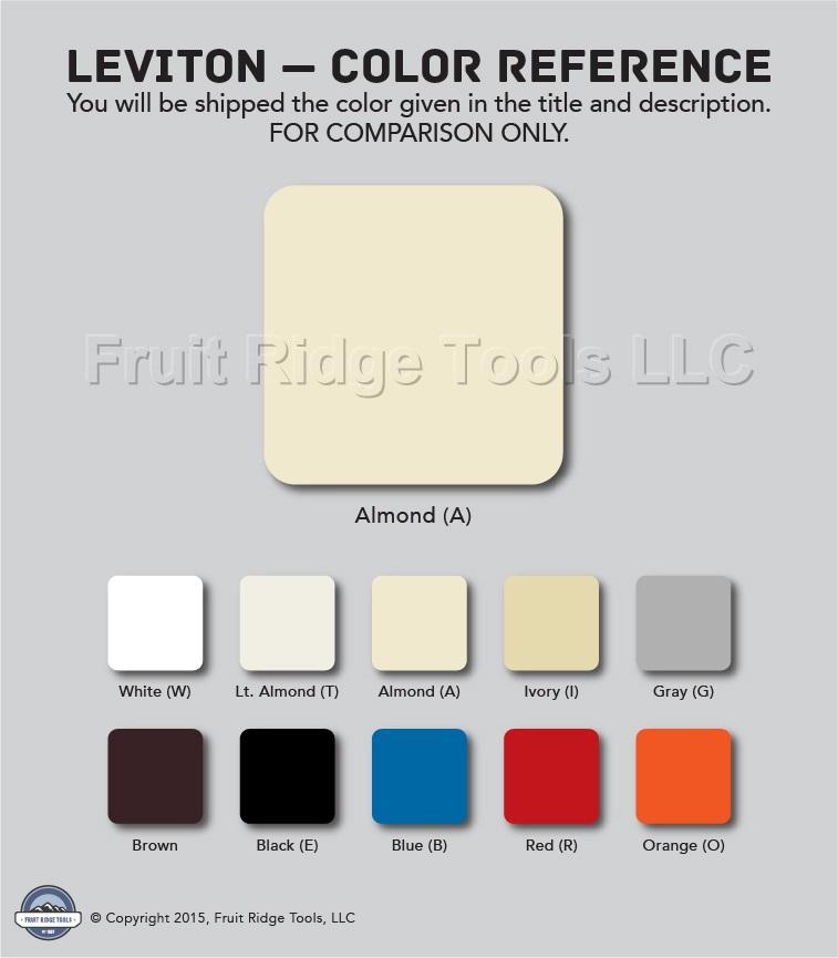 2 Leviton Decora Lt Almond GFCI /& Receptacle Wallplate Outlet GFI Covers 80455-T