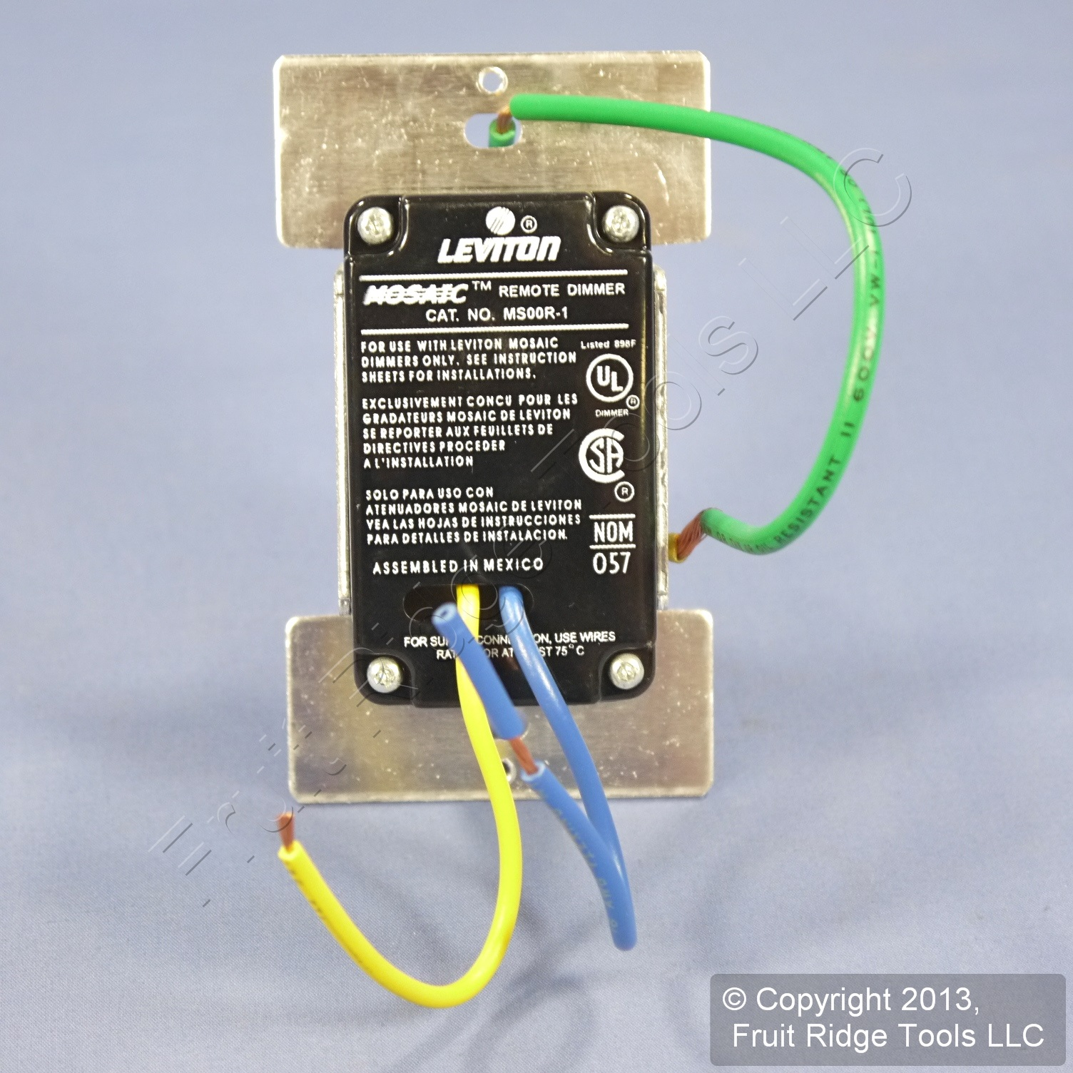 Shop Leviton Almond Multi Remote For Mural Touch Point Dimmer Nom 057 Switch Wiring Diagram Ms00r 10a Fruit Ridge Tools
