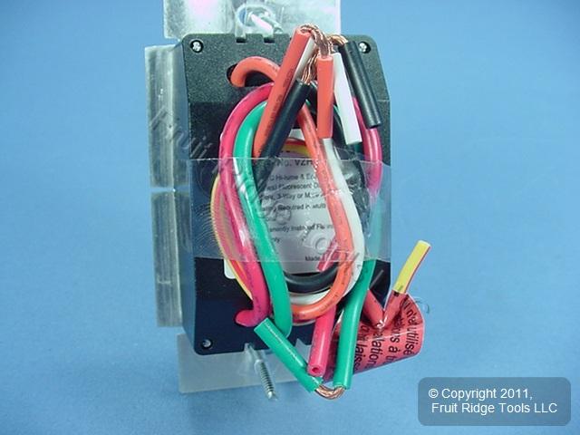 🏠 🔌 Buy Leviton White/Ivory/Light Almond Vizia Light Dimmer Switch ...