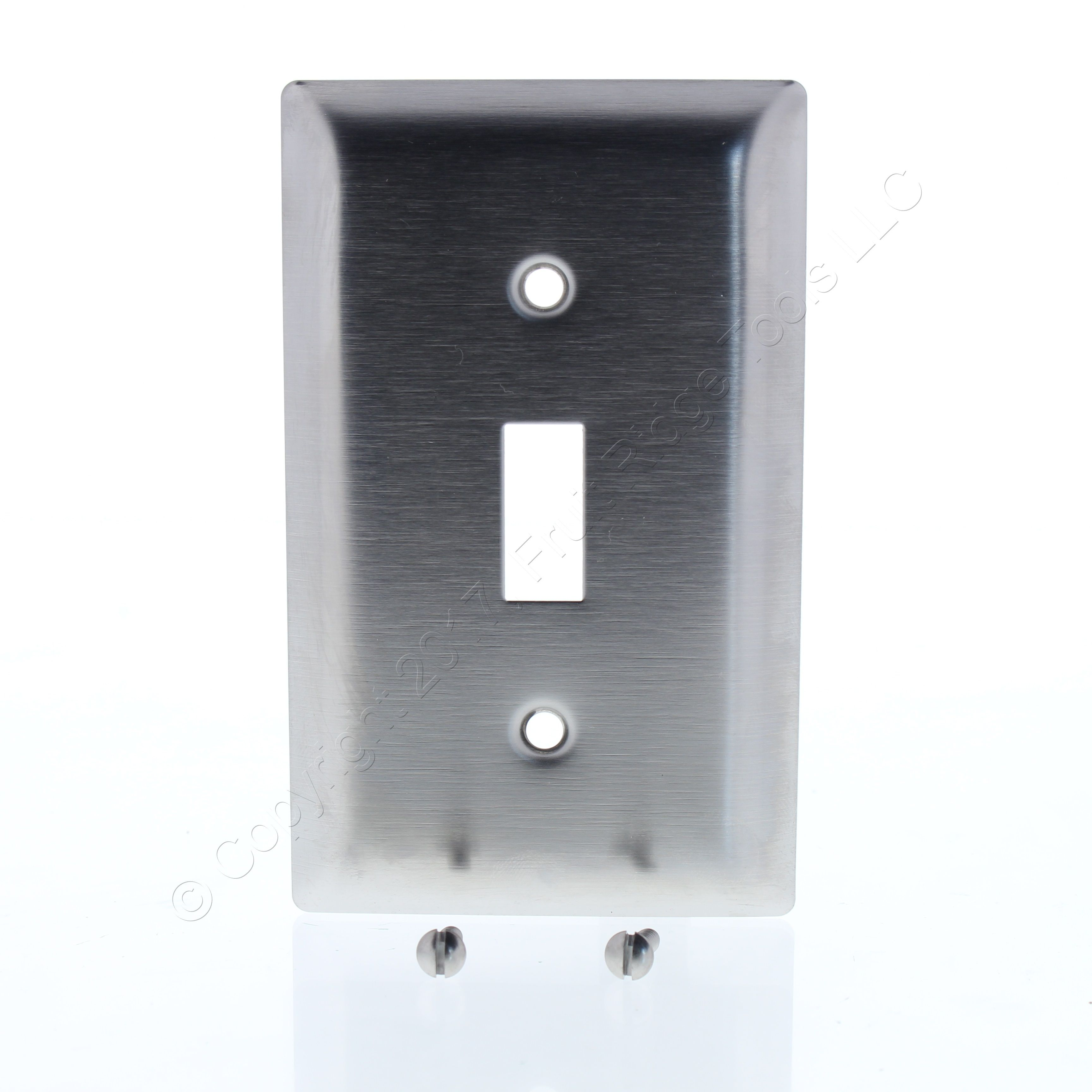 PS Type 302 NON-MAGNETIC Stainless Steel 1G Toggle Switch Cover ...