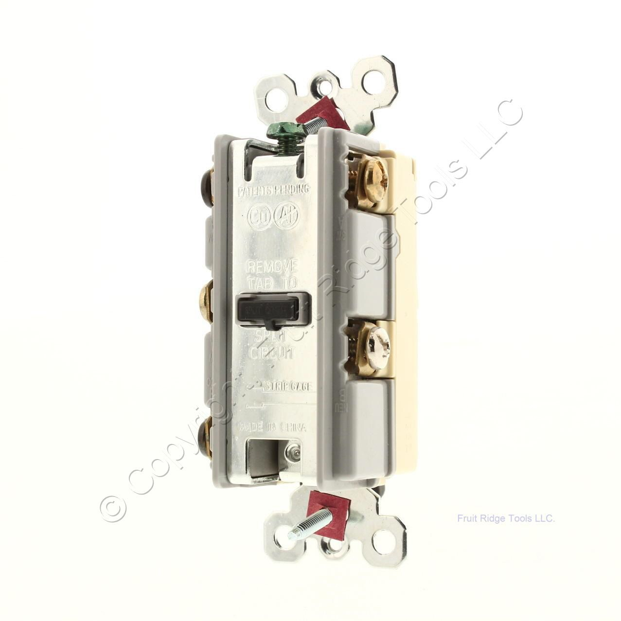 Ps Ivory Decorator 3 Way Rocker Light Switch Receptacle Outlet 5 15r Electrical Outlets Switches 15a Gfi