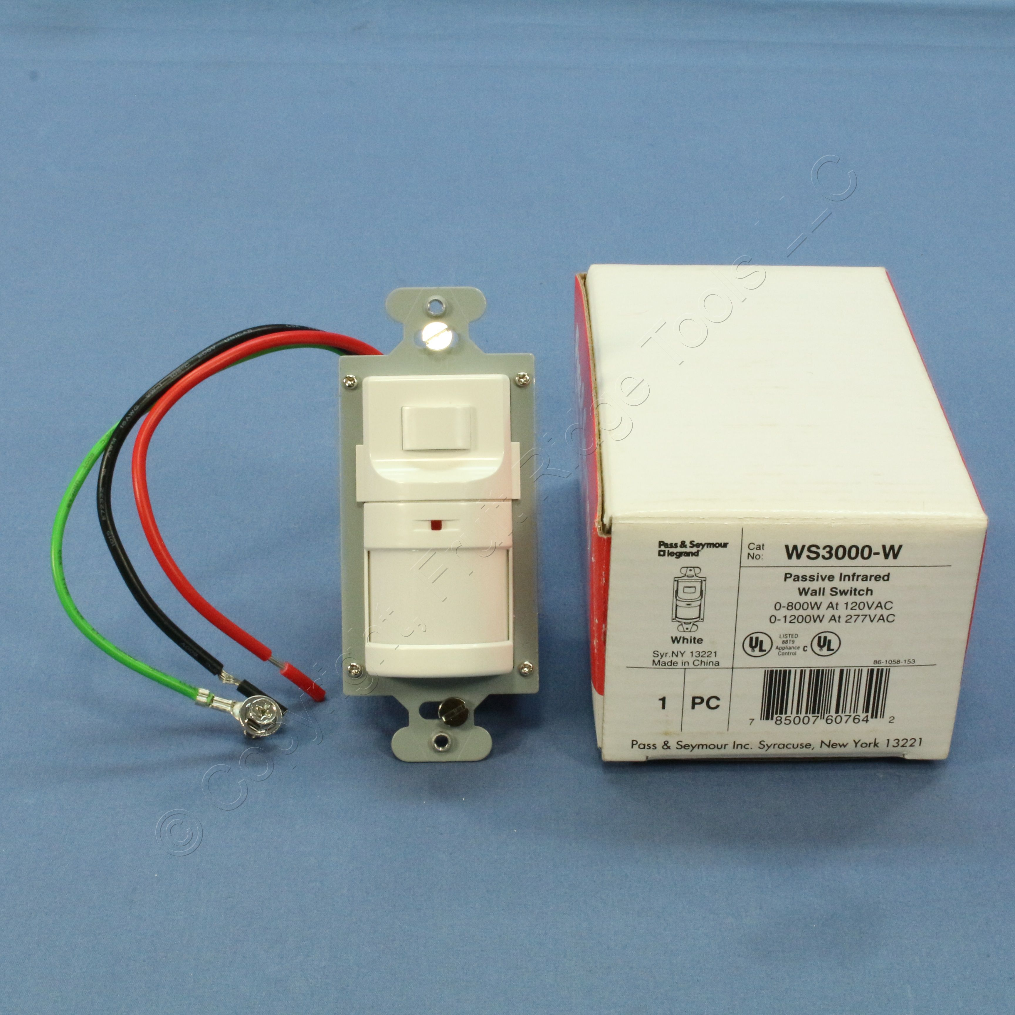 Ps white passive infrared wall switch occupancy sensor 120v277v ps white passive infrared wall switch occupancy sensor 120v277v 800w ws3000 w sciox Image collections