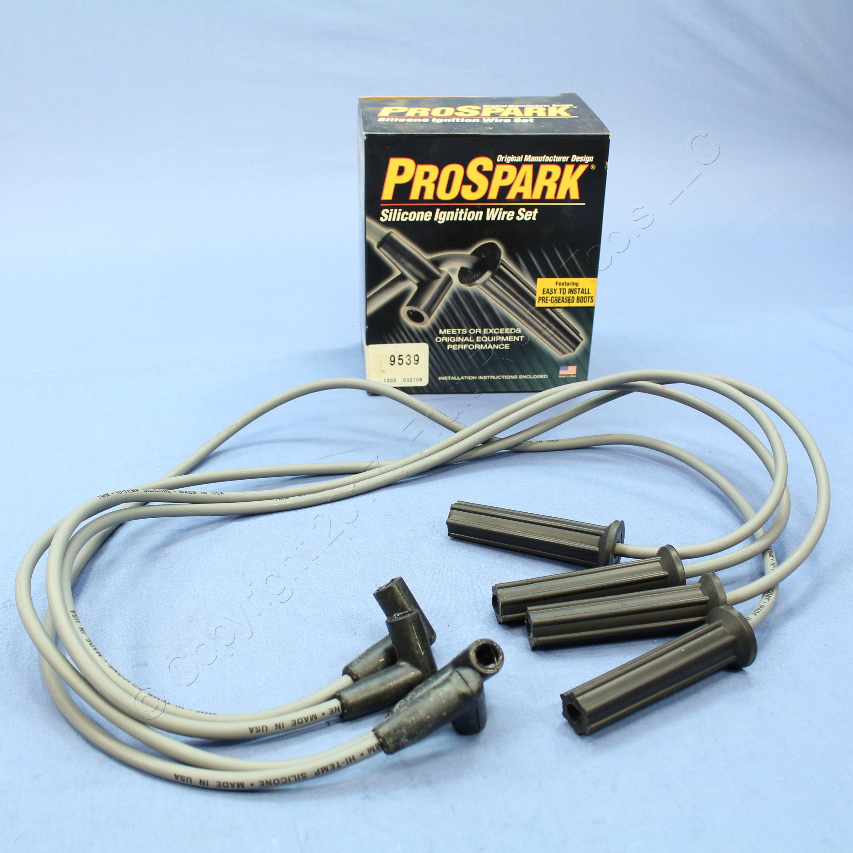 ProSpark Silicone Ignition Wire Set Part No 9214